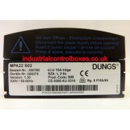 Dungs 242594  231861 MPA22 S02 230V 1.2Nm 50/60 Hz C21500D